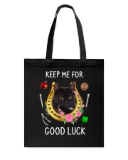 Black Cat Good Luck Tote Bag thumbnail