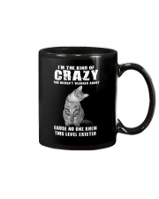 Crazy Cat Mug thumbnail