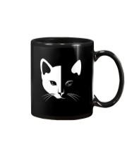 Cat half face 2508 Mug thumbnail