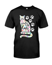 Cats Around Classic T-Shirt front