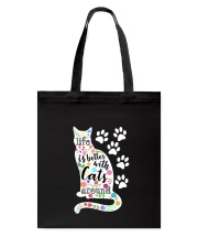 Cats Around Tote Bag thumbnail