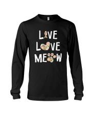 Live love meow Long Sleeve Tee thumbnail