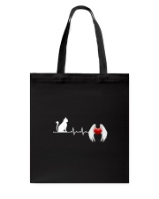 Cat Heart Angel Wings 130319 Tote Bag thumbnail
