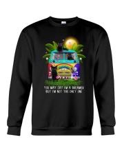 Black cat dreamer 0712 Crewneck Sweatshirt thumbnail