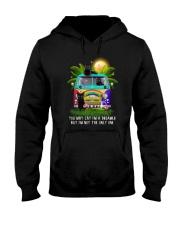Black cat dreamer 0712 Hooded Sweatshirt front