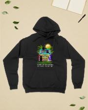 Black cat dreamer 0712 Hooded Sweatshirt lifestyle-unisex-hoodie-front-6
