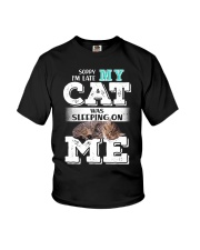 Cat was sleeping on me Youth T-Shirt thumbnail