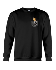 Cat Skeleton Pocket 0712 Crewneck Sweatshirt front