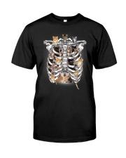 THEIA Cat In Bone 2606 Classic T-Shirt front