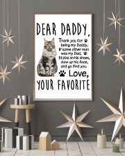 Maine Coon Dear Daddy 1412 11x17 Poster lifestyle-holiday-poster-1