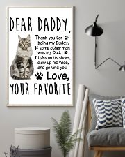 Maine Coon Dear Daddy 1412 11x17 Poster lifestyle-poster-1