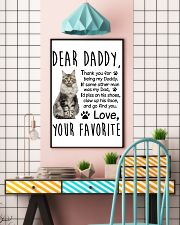 Maine Coon Dear Daddy 1412 11x17 Poster lifestyle-poster-6