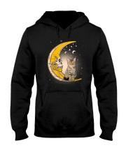 Cat moon skull Hooded Sweatshirt thumbnail