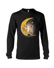 Cat moon skull Long Sleeve Tee thumbnail