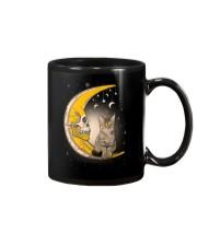 Cat moon skull Mug thumbnail