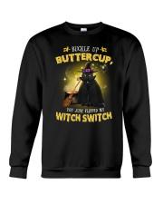 Black cat and witch Crewneck Sweatshirt thumbnail