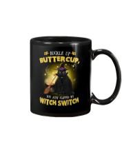 Black cat and witch Mug thumbnail