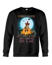 Coffee And Cat Crewneck Sweatshirt front