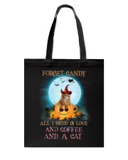 Coffee And Cat Tote Bag thumbnail