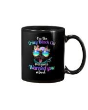 Crazy Black Cat Mug thumbnail
