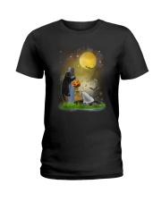 Cat - Mouse - Boo Ladies T-Shirt thumbnail