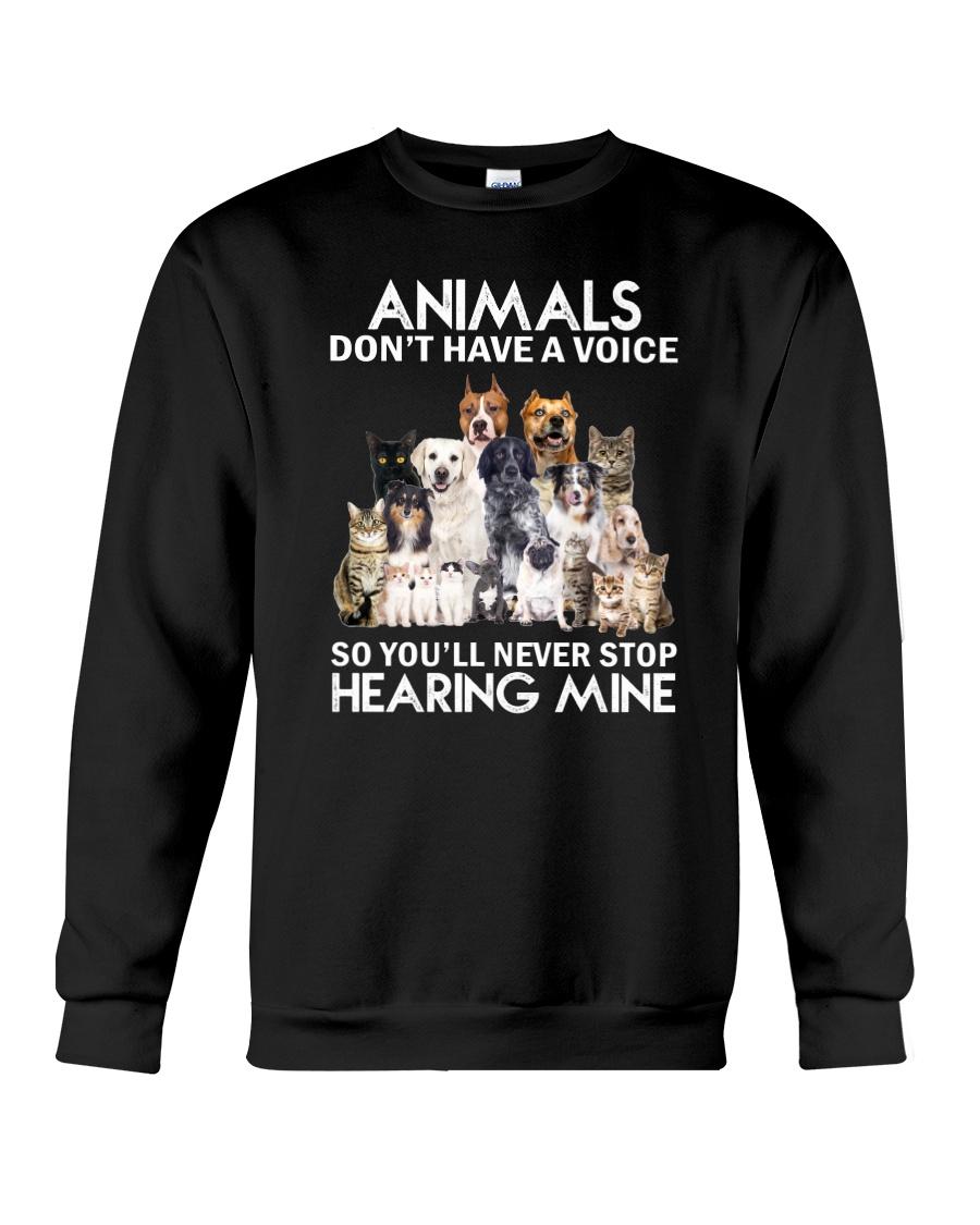 Animals hearing Crewneck Sweatshirt