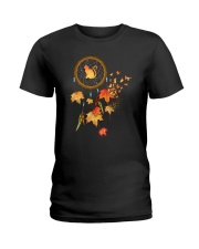 Cat leaf 0410 Ladies T-Shirt thumbnail