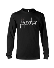 Black Cat Meow  Long Sleeve Tee thumbnail