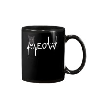 Black Cat Meow  Mug thumbnail