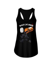 THEIA Black Cat Junkie 2007 Ladies Flowy Tank thumbnail