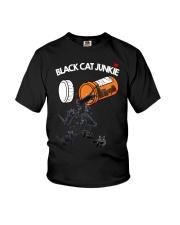 THEIA Black Cat Junkie 2007 Youth T-Shirt thumbnail