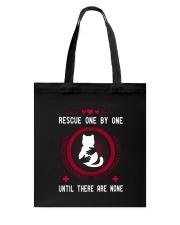 Rescue cat Tote Bag thumbnail
