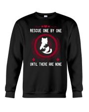Rescue cat Crewneck Sweatshirt front