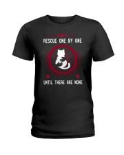 Rescue cat Ladies T-Shirt thumbnail
