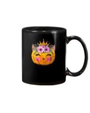 Cute Cat Pumpkin Mug thumbnail