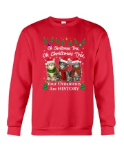 Maine Coon Ornaments Tree 2210  Crewneck Sweatshirt front