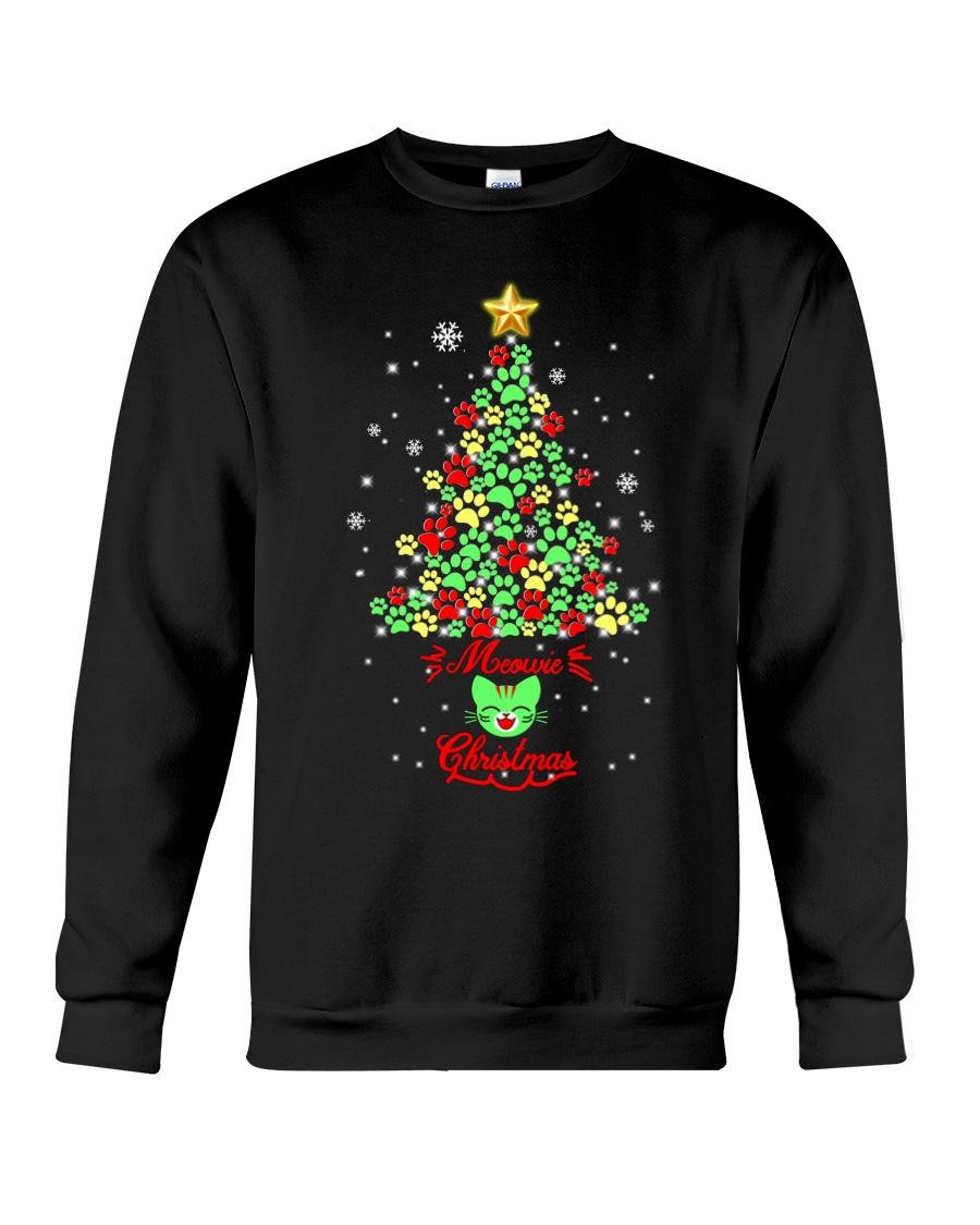 Meowie Christmas Crewneck Sweatshirt