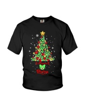Meowie Christmas Youth T-Shirt thumbnail