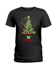 Meowie Christmas Ladies T-Shirt thumbnail