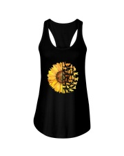 More Cats and sunflower Ladies Flowy Tank thumbnail