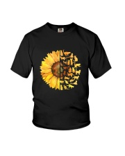 More Cats and sunflower Youth T-Shirt thumbnail