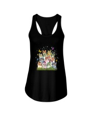Cat Colorful Ladies Flowy Tank thumbnail