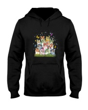 Cat Colorful Hooded Sweatshirt thumbnail