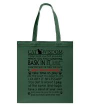 Cat Wisdom 2112 Tote Bag thumbnail