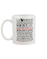 Cat Wisdom 2112 Mug back