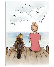 Maine Coon Cat Side by Side Poster 1112  11x17 Poster front