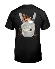 Bengal Cat Carrier Backpack 1012 Classic T-Shirt thumbnail