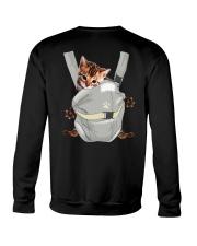 Bengal Cat Carrier Backpack 1012 Crewneck Sweatshirt thumbnail