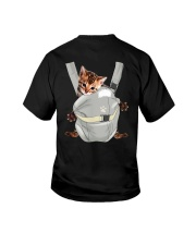 Bengal Cat Carrier Backpack 1012 Youth T-Shirt thumbnail