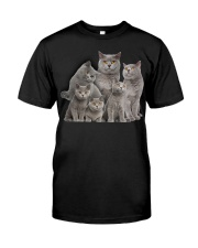 British Shorthair Five Classic T-Shirt front